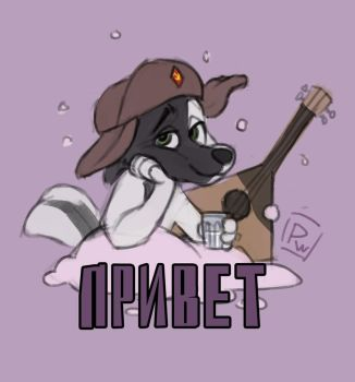 [QSS] Russian Doggy for Sea-pancake! by Poisewritik