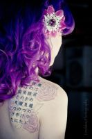 Purple Curls by MelissaDrew