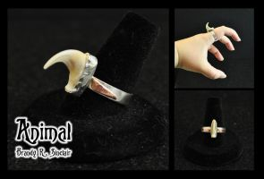 Animal - Claw Ring by crazed-fangirl