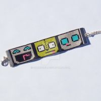 Beaded Gir Bracelet by CarrieBea