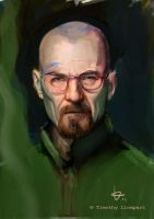 Walter White by zarquino