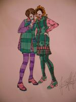 double trouble plaid by jessamyhairford