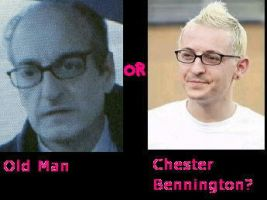 Old Man or Chester Bennington? by innervision13
