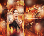 Jennifer Lawrence Catching Fire 'Burn me' by de-starkova