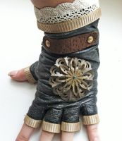 Steampunk Glove by NBetween
