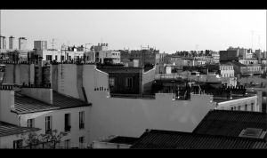 Paris - On the roofs by 0pen-y0ur-eyes
