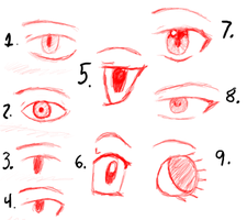 How I Do Eyes by Siouxstar