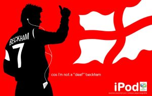 Beckham iPod by Apostolos