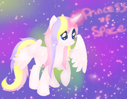 Princess of Space by l3utts