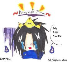 King of EMO by Sephora-chan