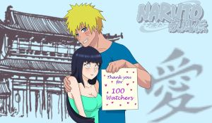 NaruHina Thanks by Demon-Twin