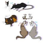 CLOSES IN 3 HOURS RIAL adoptables 3 by mechanicalmasochist