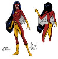 Ultimate Spiderwoman by Joe-Singleton