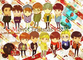 Christmas Collection -All members by miyala0401