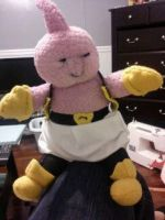Majin Buu Plush by Winstopian