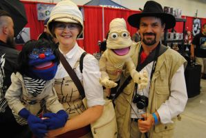 Niagara Falls Comicon 2015 - The Muppets by TheWarRises