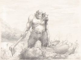 Orc by Mueslistopheles