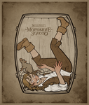 Joanna in the barrel by sharandula