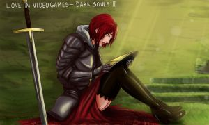 Love in videogames ds2 by Charleian