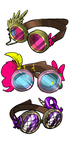 MLP Steampunk Goggles: NEED ADVICE by FrigginConfused