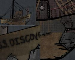 Detail overview of SS Discover by daimwn