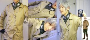 PREVIEW Wind jacket Prussia by Sujun