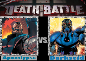 DEATHBATTLE: Apocalypse vs Darkseid by Mystic-Man