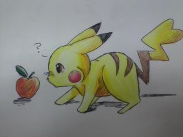 Random Pikachu Incoming! by The-stray-cat