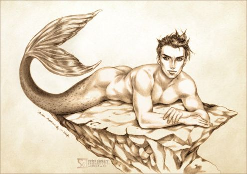 Merman by daekazu