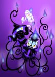 POKEMON gijinka: Litwick, Lampent and Chandelure by Melle-d