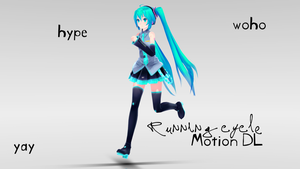 [MMD]Running Cycle [Motion DL] by MinuzNegative