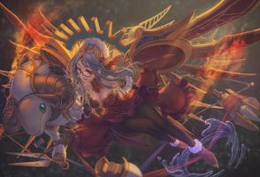 Reminiscent Norn, Urd by Rotix102
