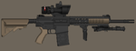 UK Royal Marines LMT 129A1 Sharpshooter Rifle by madmonty98