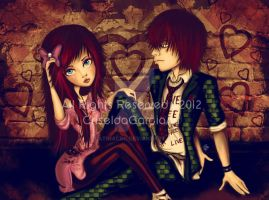 Emo Love by latinacrg