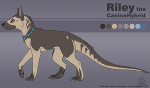 Riley the CanineHybrid by CanineHybrid