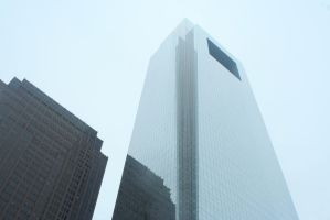 The Comcast Tower by OberthPhotography