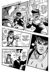 Diamond is Unbreakable comic page redraw by Arkillian
