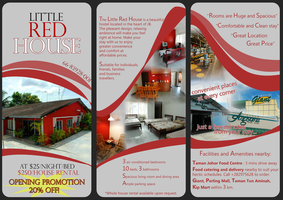Little Red House brochure. by ella-marie