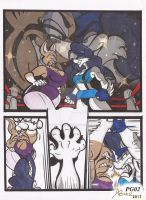 Lynx_Vs_Canine_Comic Comission_Mar2017_PG02 by AlexBaxtheDarkSide