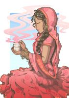 Noon Chai by JammyScribbler