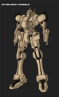 FR-MS-0097 Perseus mobile suit by jonny5lee2