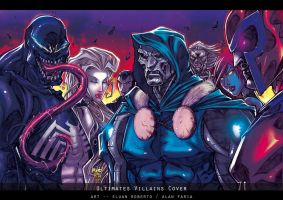 ULTIMATES VILLAINS COLORS by MadManiaco