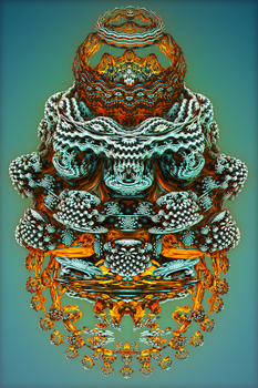 Mandelbulb Mutation by somnl