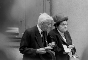 old couple by Mittelfranke