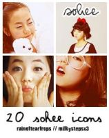 Ahn Sohee Icon Pack by milkystepsx3