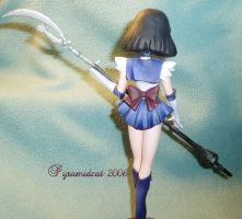 Sailor Saturn resin model3 by Pyramidcat