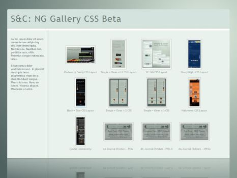 SC: NG Gallery CSS Beta by ClaireJones