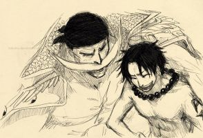 Father and Son by hakumo