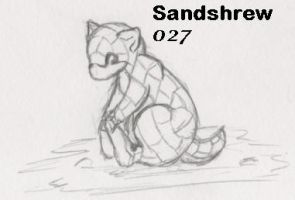 027-Sandshrew by Giggles-the-Panda