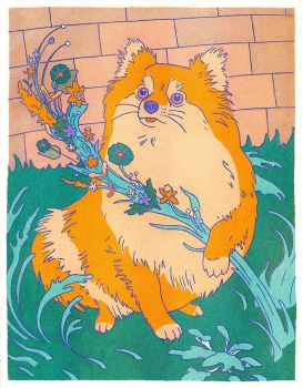Pomeranian by greer-stothers